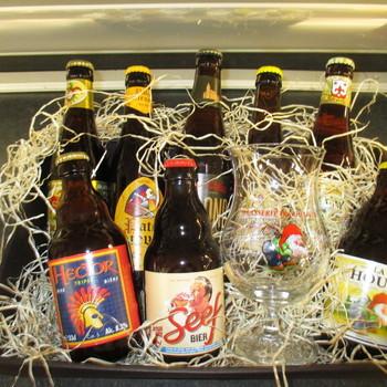 Blonde bieren korf