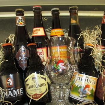 Bruine bieren korf
