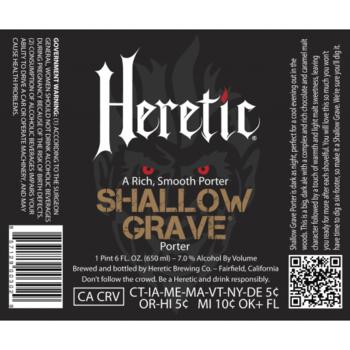 Heretic shallow grave blik 473ml