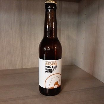 Winter barley wine 33cl