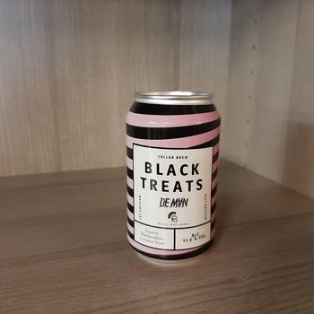 Black treats blik