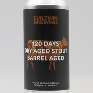 120 days Dry Aged coconut Stout Barrel Aged